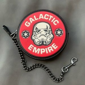 Star Wars X Coach Coin Case With Galactic Empire